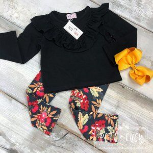 Pete + Lucy Fall Berries 2 Piece Outfit